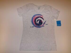 Columbia Tidal Ways Heathered Gray T-Shirt Various Sizes S M L XL NWT
