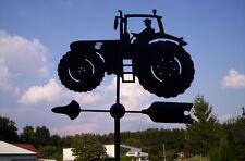 Wetterfahne, Edelstahl, Traktor, Trecker, orig. Wetterfahnen Knirsch, Geschenk