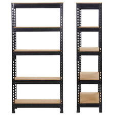 Heavy Duty Storage Rack 5 Level Adjustable Shelves 4000lb.vien Steel Metal  Shelf