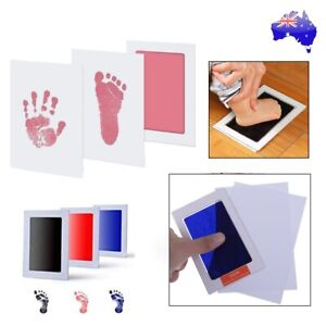 Inkless Wipe Hand and Foot Print Kit Newborn Christening Baby Pet Keepsake Gift