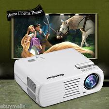 Excelvan 4500 LM LCD VIDEO PROJECTEUR HOME CINEMA 3D USB/AV/ATV/HDMI/VGA 2000:1