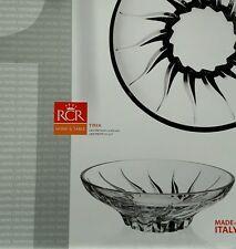 Centrotavola rcr vetro cristallino TRIX Cm 30.5  portafrutta porta caramelle