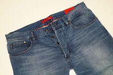 Neu - Hugo Boss - W36 L34 - Stretch - RED 677/8 - Blue Denim Jeans  36/34
