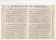 L'Etoile D'Amour Paul Delmet France Vintage Music Postcard 662b