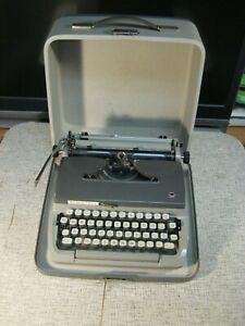 Remington Mark II Mechanical Typewriter - West Germany - with case