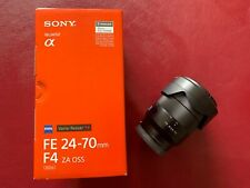 Sony FE 24-70mm F/4 ZA OSS ZEISS Objectif Vario-Tessar T