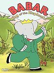 BABAR King Of The Elephants - Animation - Children's - DVD VG