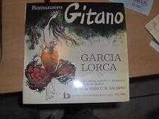 """7"""" EP 33 G ROMANCERO GITANO POESIE DI F.G. LORCA DETTE DA E.M. SALERNO CREPAX"""
