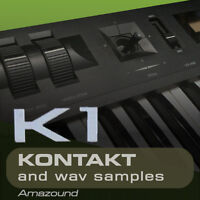 KAWAI K1 + K1II SAMPLES for KONTAKT 128 nki 1024 WAV 24BIT 1.3G MAC PC DOWNLOAD
