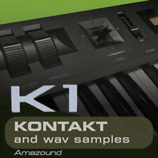 KAWAI K1 + K1II SAMPLES for KONTAKT 128 nki 1024 WAV 24BIT 1.3G MAC PC MPC LOGIC