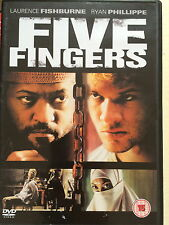 Laurence Fishburne Ryan Phillippe Cinco Dedos ~ Terrorismo SUSPENSE GB DVD
