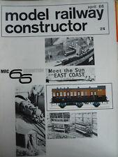 Model Railway Constructor 4 1966