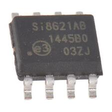 1 X Silicon Lab Si8621AB-B-IS PCB SMT 2 Canales Digital Aislador 2500 Vrms 8-Pin