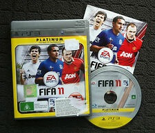 "FIFA 11 ""Platinum"" Sports Action Adventure Sony Playstation 3 PS3 Game (PAL)"