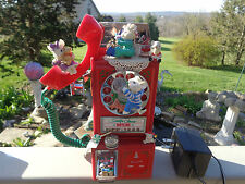 Enesco Santa's Partyline Mice Pay Telephone Multi-Action/Recordable Music Box