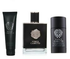 VINCE CAMUTO BY VINCE CAMUTO 3.4 oz/100 ML EDT SPRAY MEN'S COLOGNE 3PC GIFT SET