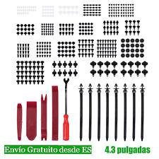 435 unds Clips Grapas de Coche Retenedores Surtidos Remaches Plástico de nylon