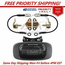 Tailgate Hinges,Cable,Bezel,Handle Kit for 99-06 Chevrolet Silverado GMC Sierra