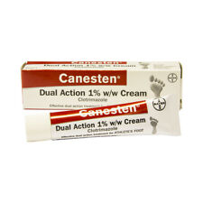 Canesten Clotrimazole Dual Action Cream Athlete's Foot and Jock Itch - 15g & 30g