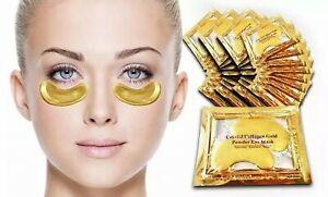 10 x Crystal Collagen Gold Hyaluronic Eye Masks