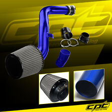 Blue Cold Air Intake + Stainless Steel Air Filter For 02-06 Altima 3.5L V6