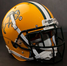 *CUSTOM* NORTH DAKOTA STATE BISON Schutt XP GAMEDAY Football Helmet w/EGOP Mask