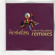 (FQ963) The Penelopes, Sally In The Galaxy (remixes) - 2011 DJ CD