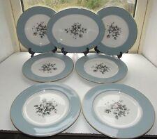 Royal Doulton Rose Elegans  TC1010 6 x Dinner Plates 27cm 1 x Platter  33cm