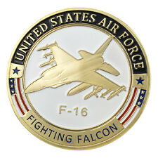 USAF F-16 Fighting Falcon GP Challenge Coin 1321#