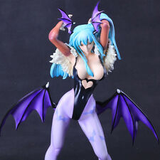 M0902 fu Painted Darkstalkers Morrigan Blue 1/5 Resin  Figure