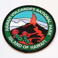 Official Hawai'i Volcanoes National Park Souvenir Patch Island of Hawaii