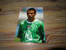 Fußball-Autogrammfotos & Autographen