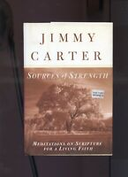 JIMMY CARTER signed lstED THE REAL SOURCES  of STRENGTH GREAT PRICE