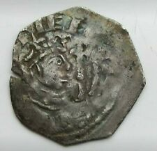 More details for rare stephen penny genuine 12th century english silver coin