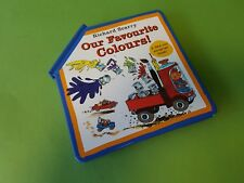 Our Favourite Colours Hardback Pop Up Book by Richard Scarry Activity Book