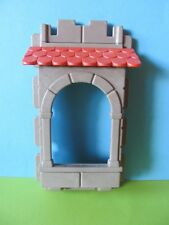 PLaymobil * parte del tallo de la ventana de mirador de la pared + teja Castillo 3666 3449