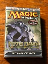 MTG Magic the Gathering Fifth Dawn Theme Deck: Nuts And Bolts - Sealed