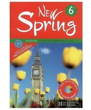 Manuel scolaire New Spring 6e Anglais Ed. Hachette Education