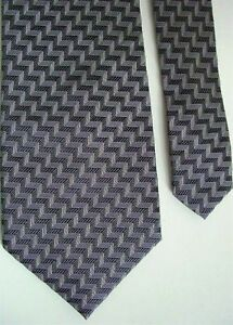 "Kenneth Cole New York Men's Silk Novelty Neck Tie Gray Wide 3 7/8"" x 57"""