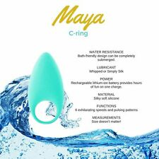 NEW - ADULTS ONLY! MAYA HYDRATHRILL C-Ring Vibrator + FREE  SHIPPING!