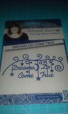 Tattered Lace metal cutting die - Dreams do come true word saying title