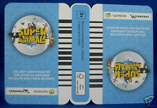 WOOLWORTHS TARONGA Super Animals BLUE Collector Card NEW (Un-opened) ~ in Aust