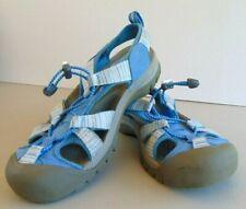 Keen Whisper Women Size 9.5 Blue Waterproof Sandal Shoe