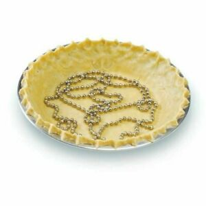 Norpro 6' Stainless Steel Pie Crust Weight Chain - Avoid Bubbles and Cracks