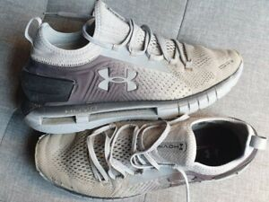 Under armour hovr trainers grey black  size 8