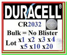 Pila CR2032 DURACELL Industrial Batteria Bottone Litio Lithium scegli lotto