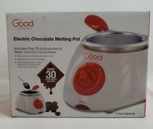 Good Cooking Chocolate & Candy Melts Electric Melting Pot 1 Cup Capacity New