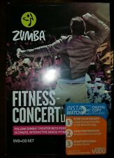 NEW Sealed ZUMBA FITNESS CONCERT LIVE 2015 DVD + CD