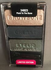 WET N WILD Coloricon Eyeshadow Trio PLAID TO THE BONE 34823 Limited Edition Seal