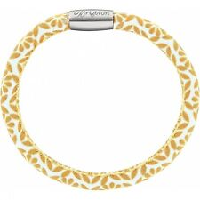 NWT Brighton WOODSTOCK Marigold Twiggy Single Leather Bracelet  S/M MSRP $40